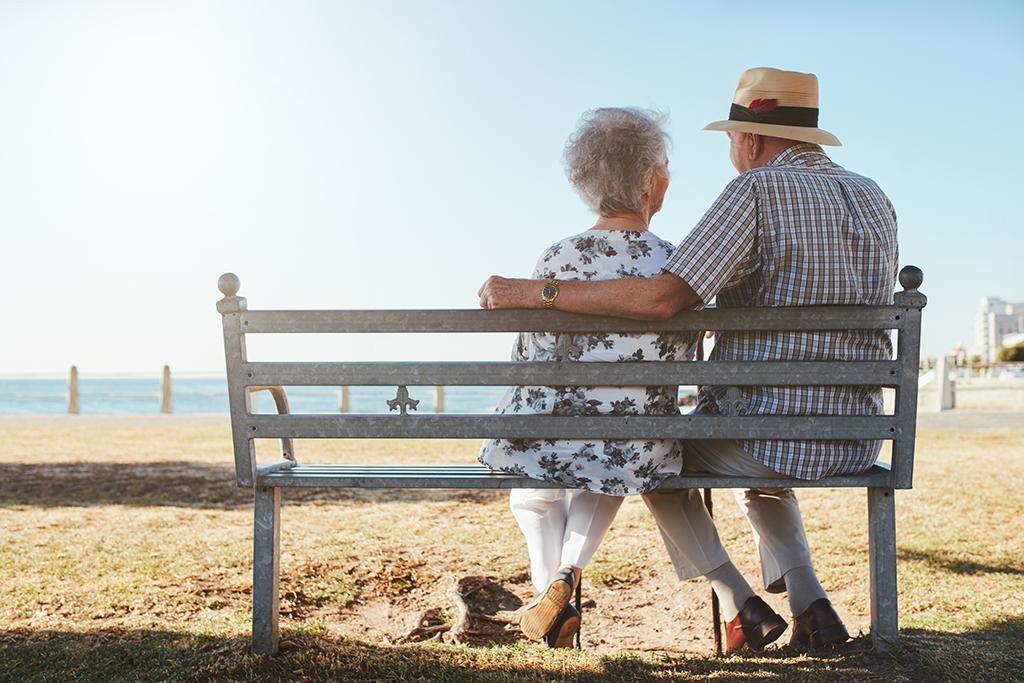 Senior adult downsizing older