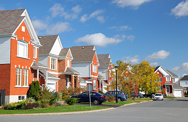 suburb houses