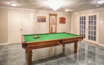 pool table home
