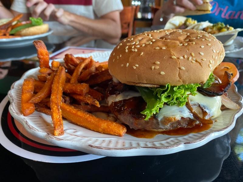 3 Sisters Speakeasy - Bourbon Burger
