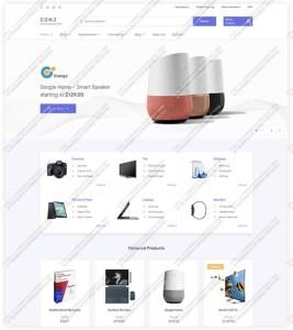 conj electronic store demo