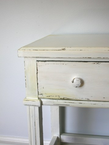 how to antique and distress furniture with paint | movita beaucoup