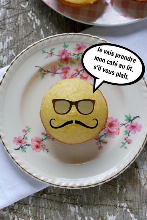 lemon tea muffins | movita beaucoup