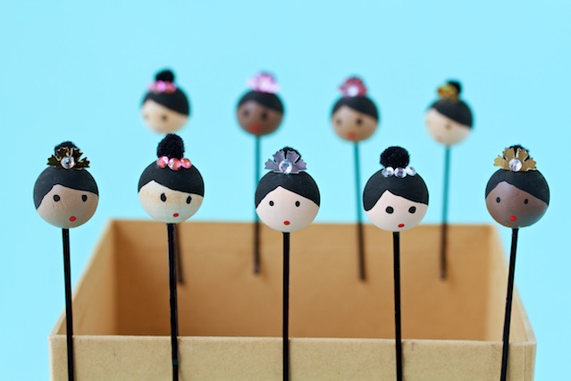 bunhead bobby pins | movita beaucoup - an easy DIY for the ballet fan in your life