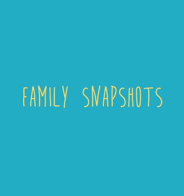 family snapshots // movita beaucoup