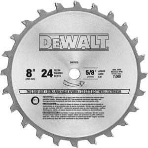 Whats the best table saw blade product reviews 2017 mowerandsaw dewalt dw7670 8 inch 24 tooth stacked dado set greentooth Choice Image