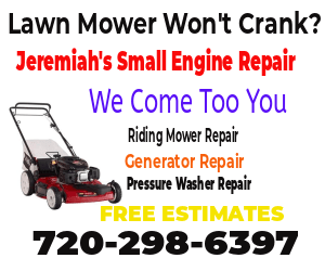 Lawn Mower Won't Run Without Choke Repair Denver, CO