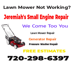 Lawn Mower Won't Fire Repair Denver, CO