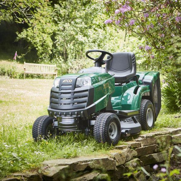 Atco GT 38H Twin Ride on Mower