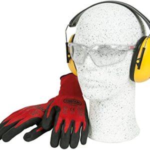SAFETY KIT (GLOVES, EARMUFF & GLASSES)