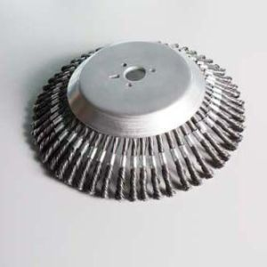 Steel Plate Brush for Weedhex