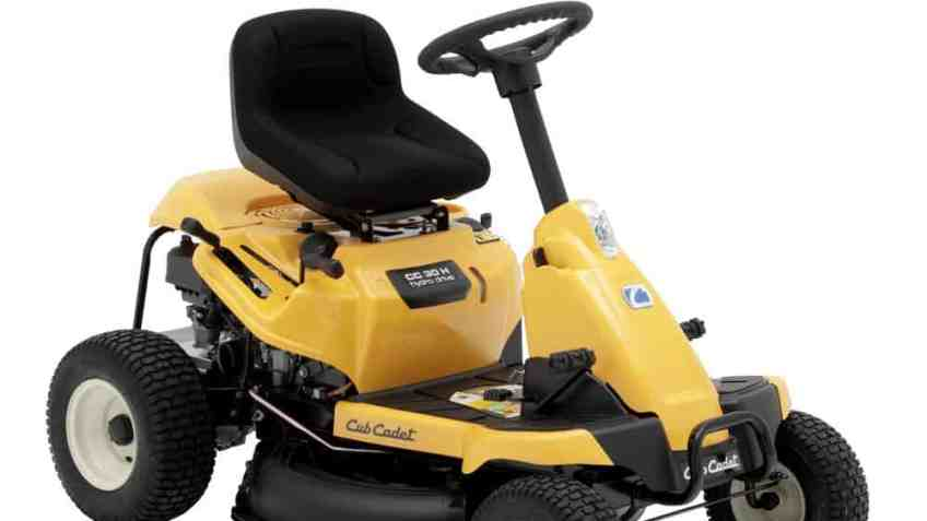 Cub Cadet CC30H 30″ Riding Mower With 382cc Rear Engine – Mower