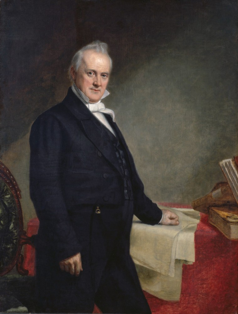 James Buchanan, Official White House Portrait