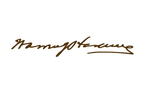 Warren Harding signature