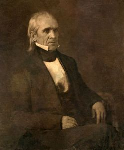 Polk is the first President with an extant photograph.
