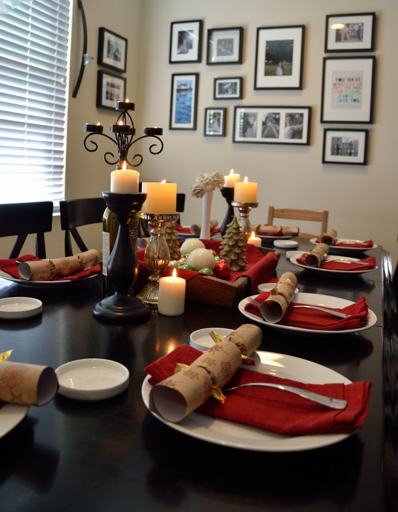 (ed. note: MrsMowry cooks fine meals ... and she sets a great table, too!)