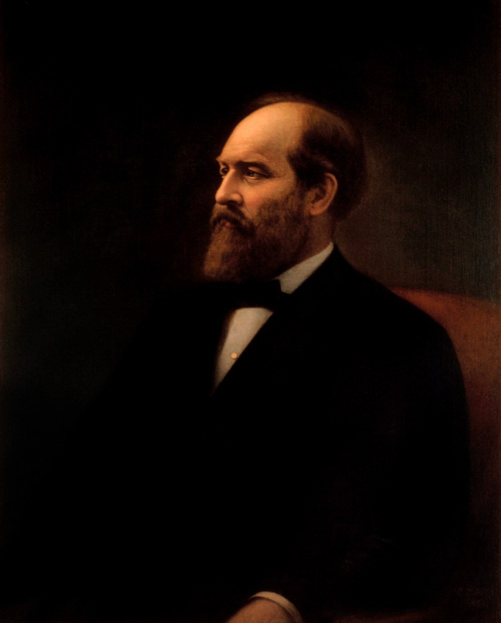 James Garfield, official Presidential Portrait