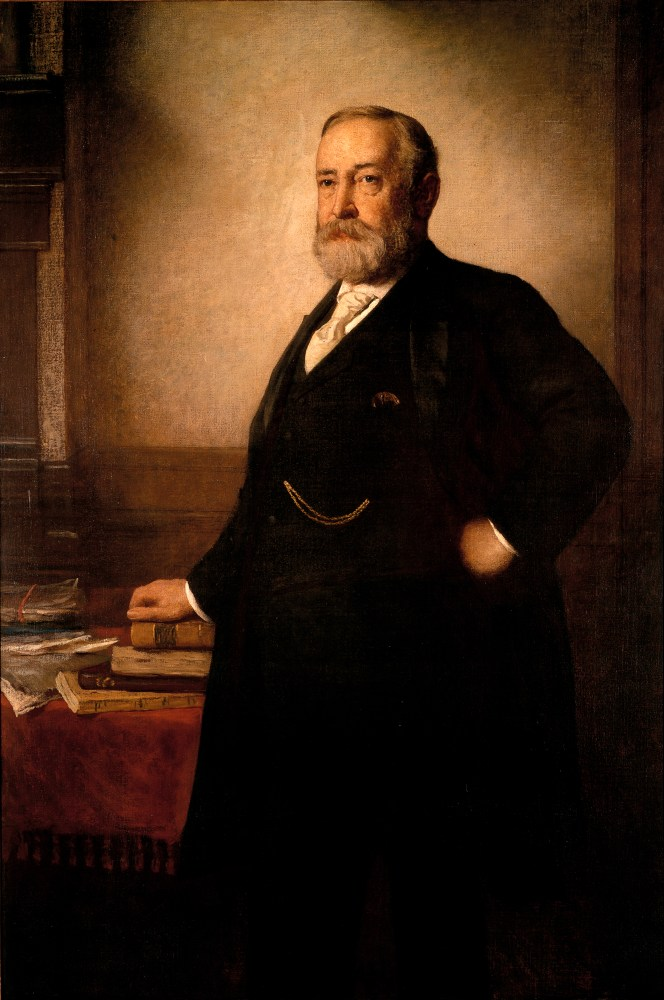 Benjamin Harrison, Official White House Portrait