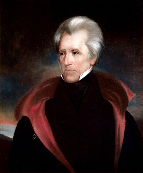 Andrew Jackson, official White House portrait