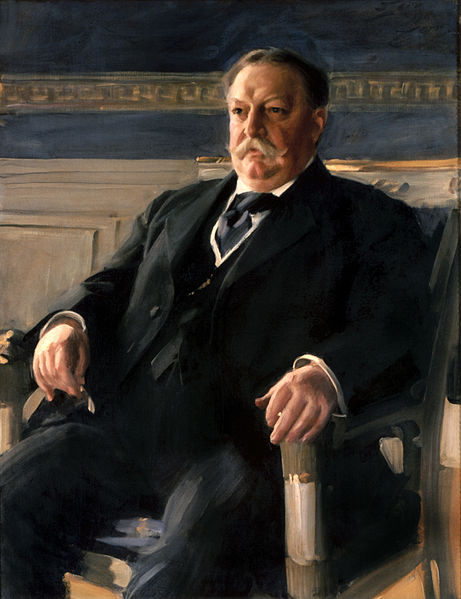 William Taft, Official Presidential Portrait