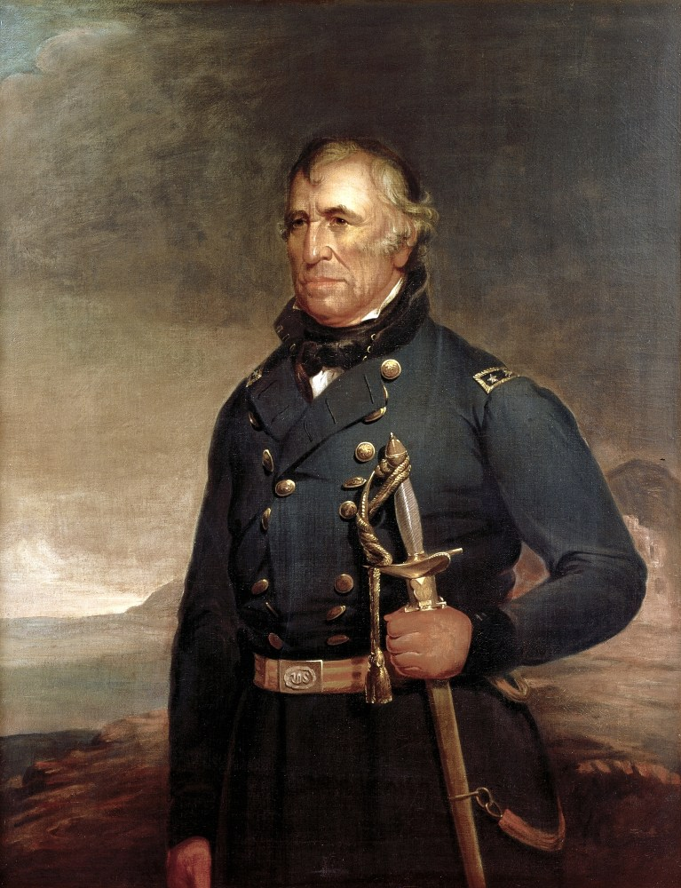 Zachary Taylor, official White House Portrait