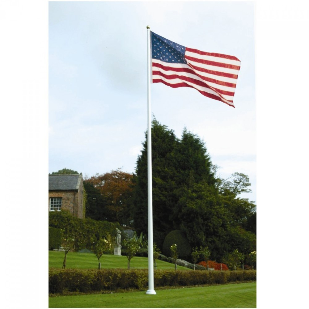 US Flag - pole
