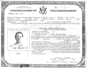 Mary Gavelda immigrated from Poland in 1908, and then married Simon Chucalovich in 1910. Mary became a naturalized citizen in 1939 ... and Velda was named for her.