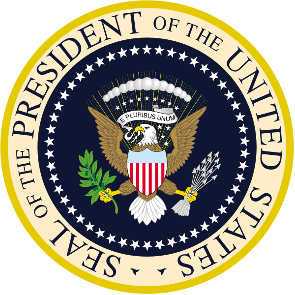 Presidential Seal - today