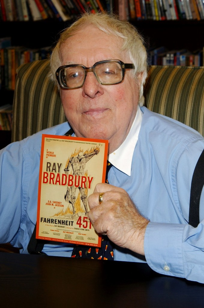 """There are worse crimes than burning books. One of them is not reading them.""- Ray Bradbury"