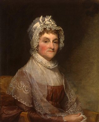 "Abigail Adams, to her son John Quincy Adams, during his first semester at Harvard, ""If you are conscious to yourself that you possess more knowledge upon some subjects than others of your standing, reflect that you have had greater opportunities of seeing the world, and obtaining a knowledge of mankind than any of your contemporaries. That you have never wanted a book but it has been supplied to you, that your whole time has been spent in the company of men of literature and science. How unpardonable would it have been in you to have been a blockhead."""