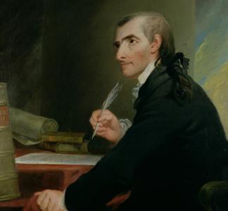 Francis Hopkinson portrait by Robert Edge Pine.