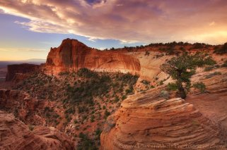 A gorgeous sunrise just to the right of Mesa Arch. Darren White Photography. From Canyonlands NP Facebook page.