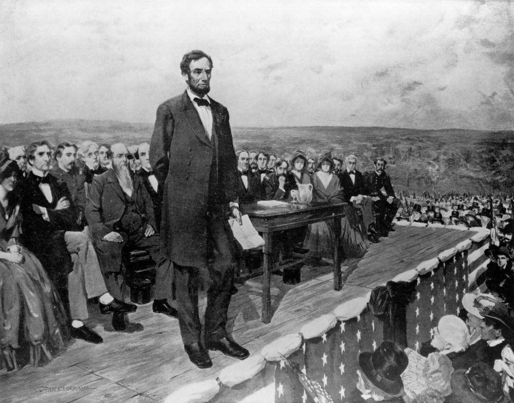 Lincoln at Gettysburg - Ranson
