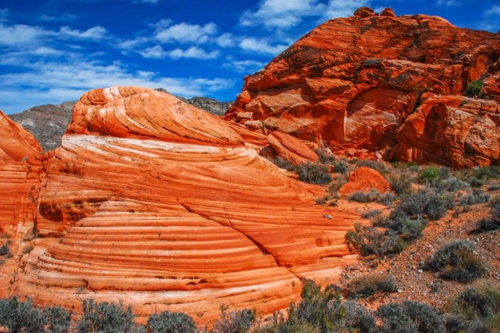 Check out this amazing photo of sandstone from the Muddy Mountain Wilderness in Nevada. Tweeted by the US Department of the Interior 10/31/13.