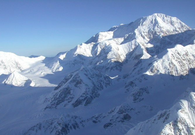 From the Park's website. West Buttress of Mt. McKinley.