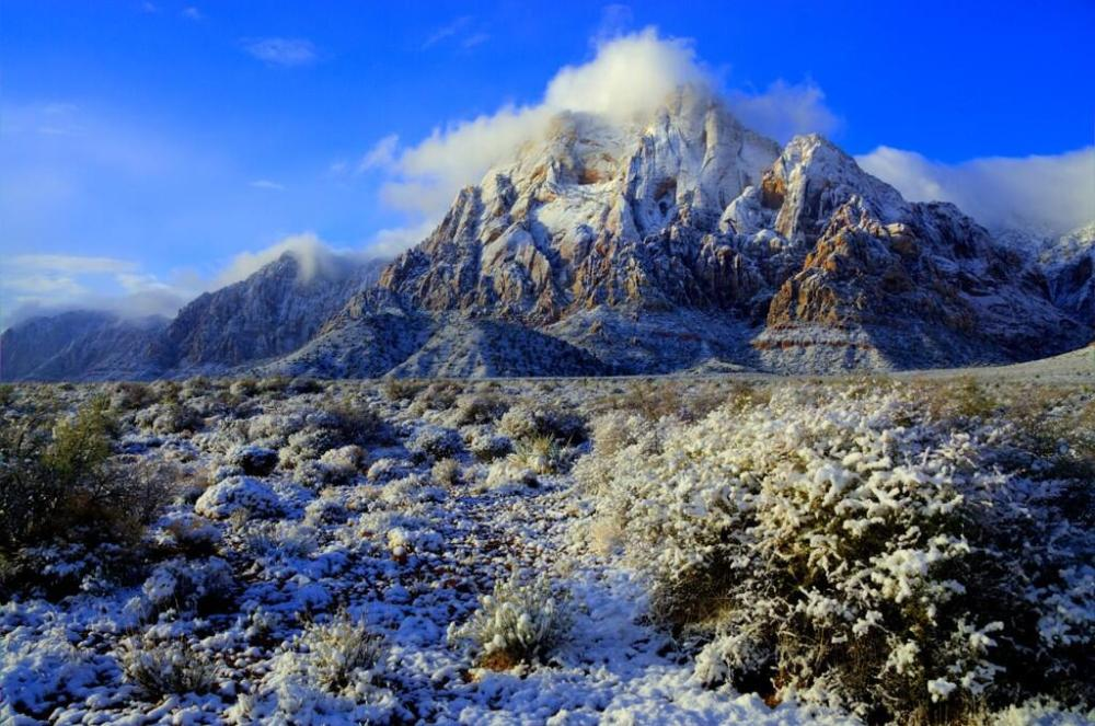 Utah's Rainbow Mountain Wilderness, tweeted by the US Department of the Interior, 12/04/13.