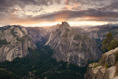 Yosemite sunrise. Photo: Ethan Killian. Posted on Tumblr by the US Department of the Interior, 2/12/14.