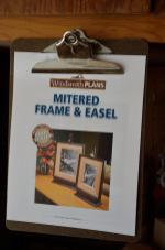 Picture frames on an easel stand, coming soon!