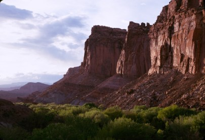 Fruita and Wingate Cliffs. From the Park's website.