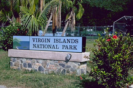 park Virgin plants national island