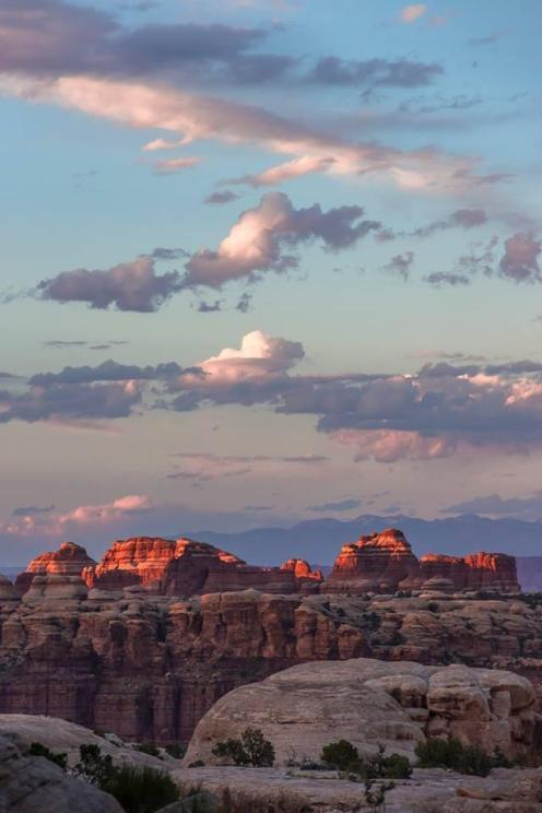 Utah's Canyonlands National Park. Tweeted by the US Department of the Interior, 6/9/14.