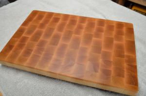 # 1. Hard Maple end grain.