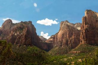 Zion National Park. Tweeted by the US Department of the Interior, 10/16/14.