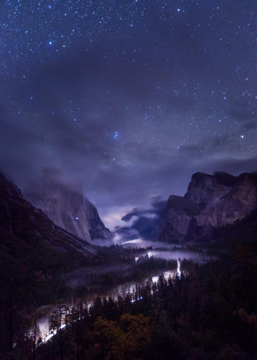 The beauty of Yosemite knows no bounds. Photo by Toby Harriman. Tweeted by the US Department of the Interior on 12/1/14.