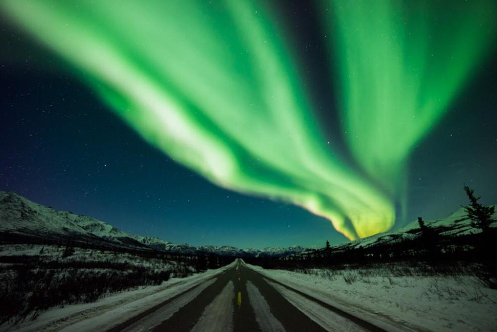 The aurora borealis dancing over Denali National Park was the subject of the most popular photo shared by the US Department of the Interior last week. Tweeted 3/23/15.