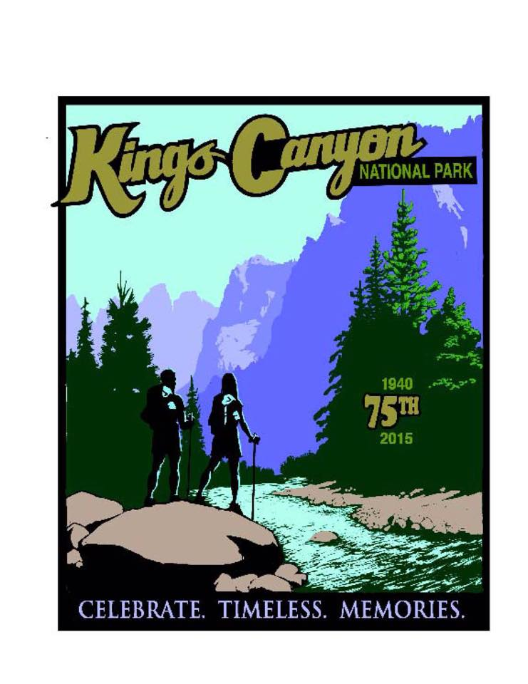 Kings Canyon NP - 75th anniversary
