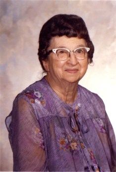 Juanita Boring Mowry (1900 - 1987), my father's mother. My Grandmother.