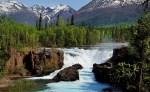 Lake Clark NP 34 – Waterfall