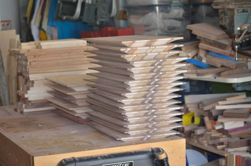 "When the top of the board is only 1/4"" thick, the cove cuts are done."