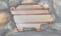 Pig # 15 - 08. Jatoba, Jarrah, Hard Maple & Padauk.